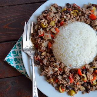 Venison Picadillo - Ground Deer Recipes.