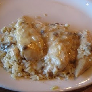 Cracker Barrel Chicken and Rice.