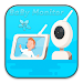 Baby Monitor alarm using phone with audio cries Icon