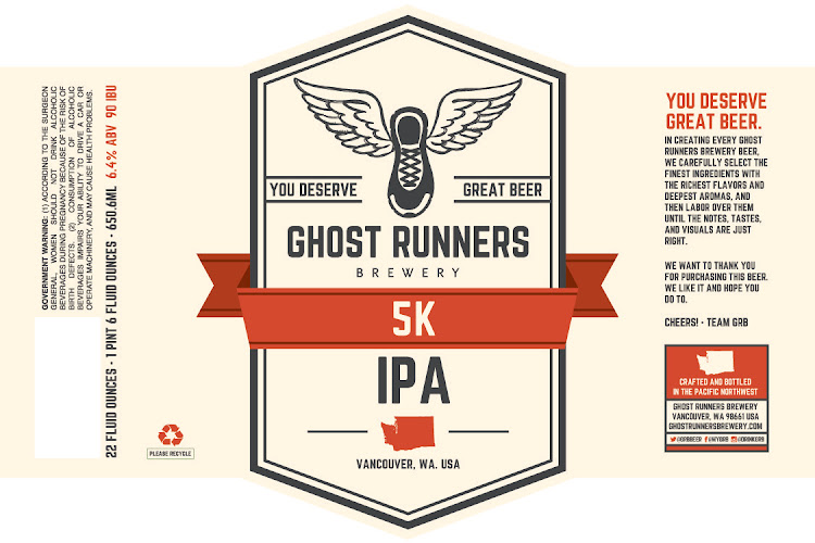 Logo of Ghost Runners 5k IPA