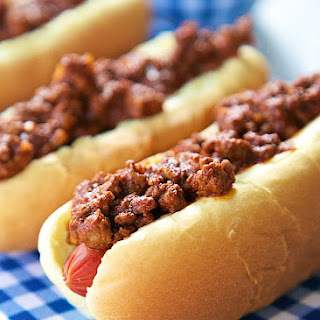 Dr. Pepper Chili Dogs