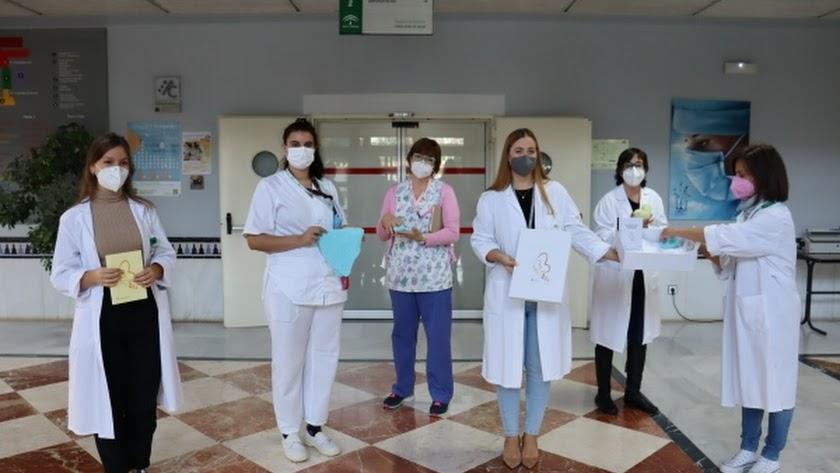 Participantes en el proyecto \'Siempre en mi\' del Hospital de Poniente.