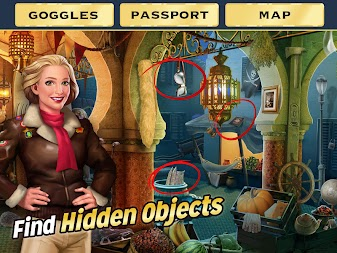Pearl's Peril - Hidden Object Game APK screenshot thumbnail 12