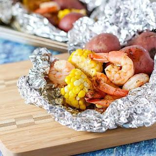 Old Bay Shrimp Foil Packs Recipe