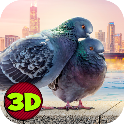 Flying Bird Pigeon Simulator 2 角色扮演 App LOGO-APP開箱王