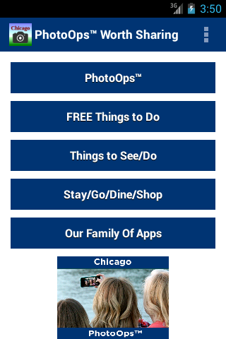Chicago PhotoOps- find & shoot- screenshot