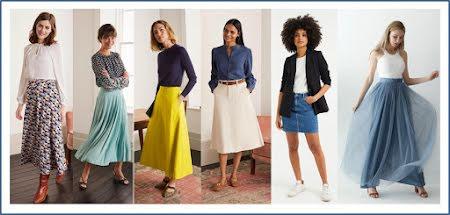Welke rok ( en welke lengte) past bij je figuur?