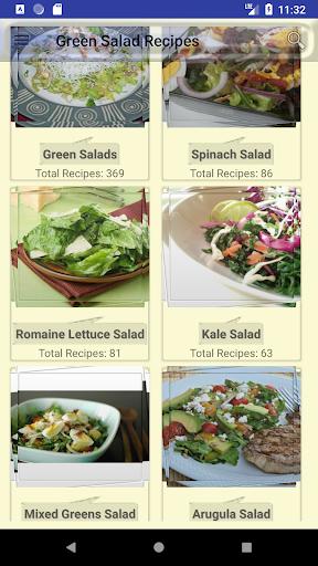 Green Salad Recipes - vegetable salads 5.6.3 screenshots 1