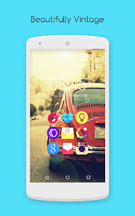 Flair Retro - Icon Pack - screenshot thumbnail