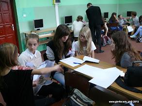 Photo: Warsztaty dziennikarskie w Gimnazjum nr 1 w Płońsku [22.10.2013]
