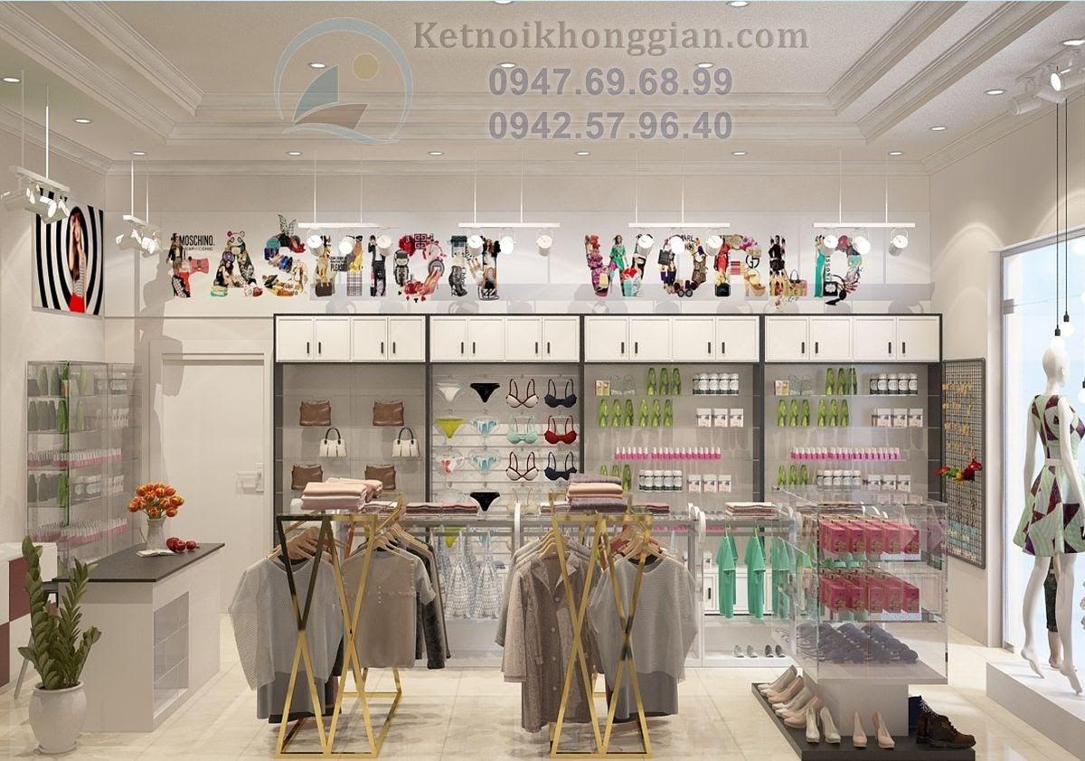 thiết kế cửa hàng mẹ và bé chuyên nghiệp