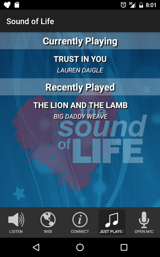 Sound of Life- screenshot