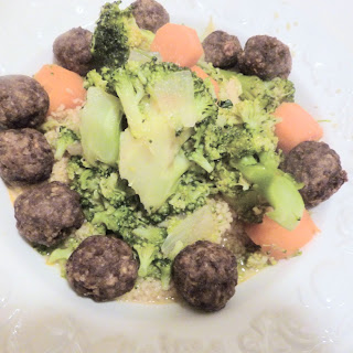 Meatballs with Vegetables and Couscous Recipe