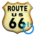 Screen Off & Lock ROUTE 66 icon