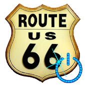 Screen Off & Lock ROUTE 66