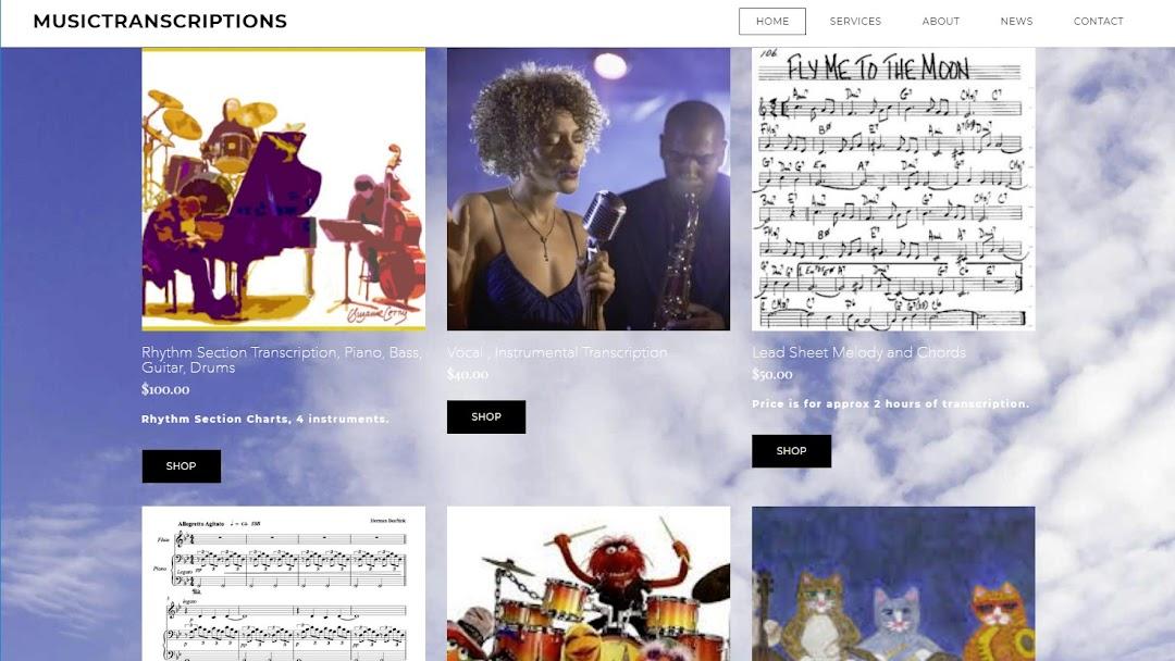 Music Transcriptions - Musician in Pembroke Pines