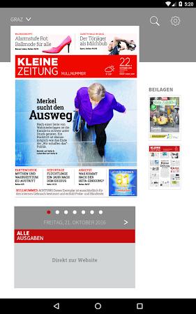 Kleine Zeitung ePaper 3.0.12 screenshot 1298923