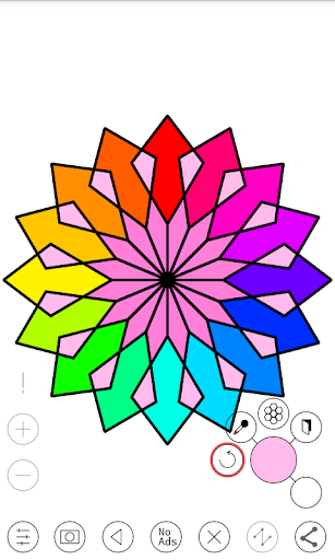 Line Art - Circular Vector Drawing App 1.1 screenshots 3
