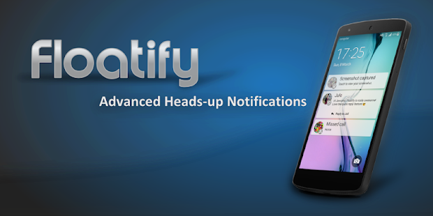 Floatify Heads-up Notification - screenshot thumbnail