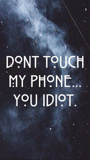 Don T Touch My Phone Lock Screen Wallpapers App Report On