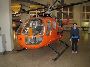 Photo: Deutsches Museum exhibits: helicopters