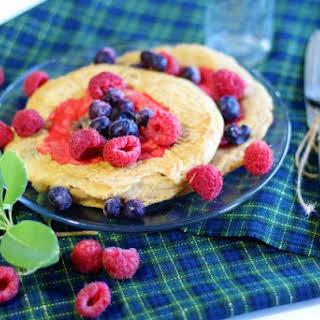 Merida's Mother's Day Pancakes – Vegan Pixar's Brave Inspired.