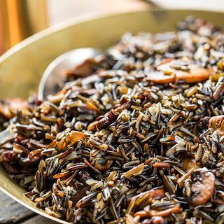 Wild Rice With Mushrooms