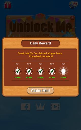 Unblock Me FREE 2.0.7 screenshots 16