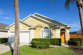 Orlando villa close to Disney, community facilities, secluded private pool, games room