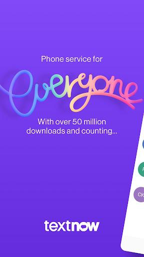 TextNow: Free Texting & Calling App Screenshots 1