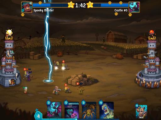 Spooky Wars - Castle Battle Defense Strategy Game modavailable screenshots 9