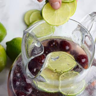 Cherry Limeade Sangria.