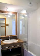 Photo: Salle de bain d'un appartement de la résidence