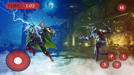 Real Fighting Immortal Gods Ring Arena Battle 3D 2 1.0 screenshots 8