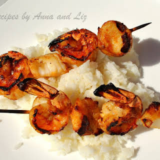Best Grilled Shrimp and Scallop Kabobs.