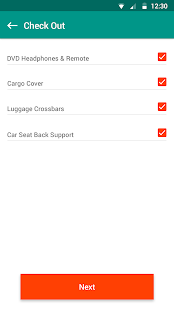 Vehicle Check-out/Check-in App- screenshot thumbnail