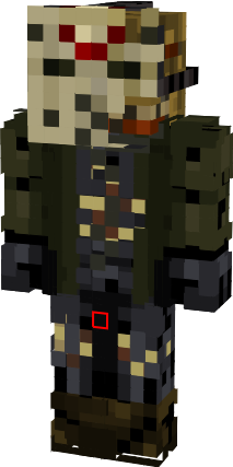 Jason Voorhees From Part 7 The New Blood Nova Skin