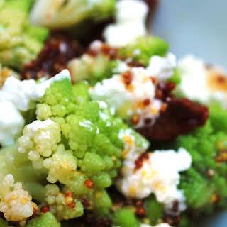 Super healthy Romanesco salad.