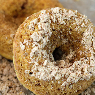 Cinnamon Baked Donuts {Vegan + Gluten Free}