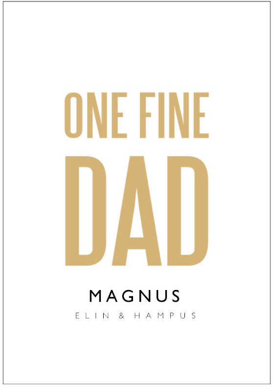 ONE FINE DAD/MOM