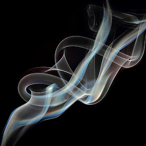 smoke by Mostafa Naderpour - Abstract Fire & Fireworks ( smoke )