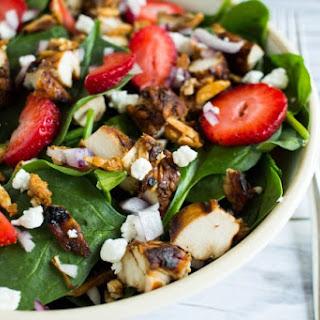 Summer Strawberry Chicken Salad