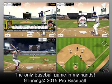 9 Innings: 2015 Pro Baseball Screenshot 2