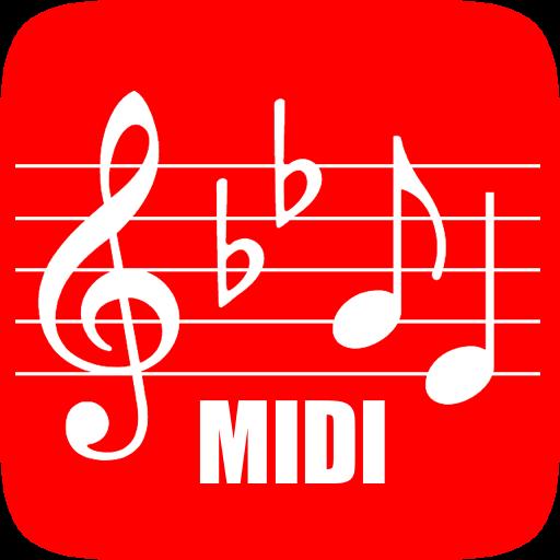 MIDI 樂譜 音樂 App LOGO-硬是要APP