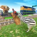 Train Animal Transporter Drive icon