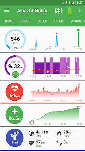 Notify & Fitness for Amazfit- screenshot thumbnail
