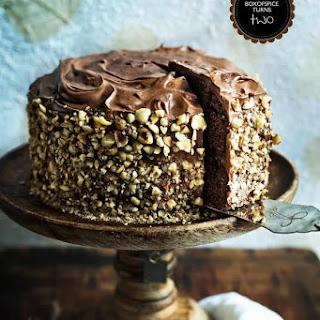 Chocolate Kahlua Hazelnut Cake + BOXOFSPICE Turns Two
