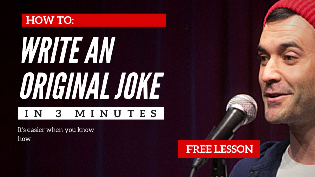 How to Write a joke in 3 Minutes
