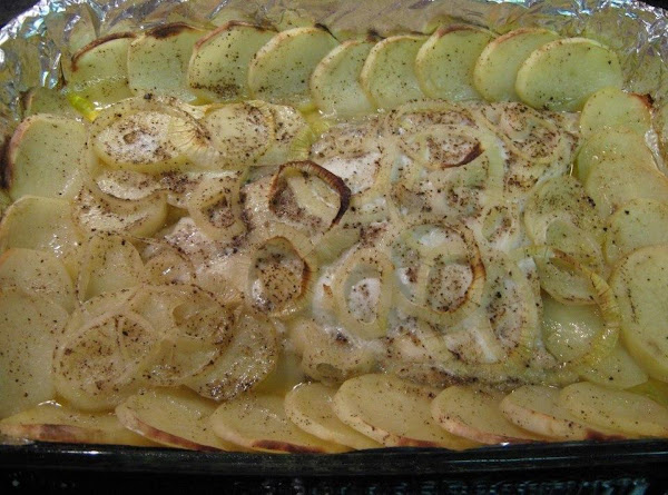 Down East Baked Flounder Recipe