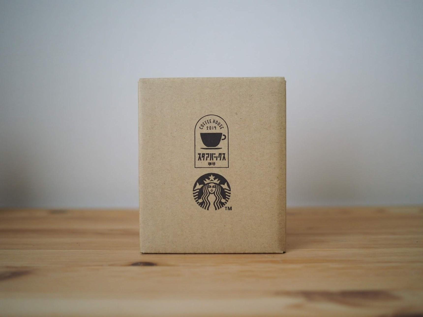 スタアバックス珈琲×FireKingマグの箱